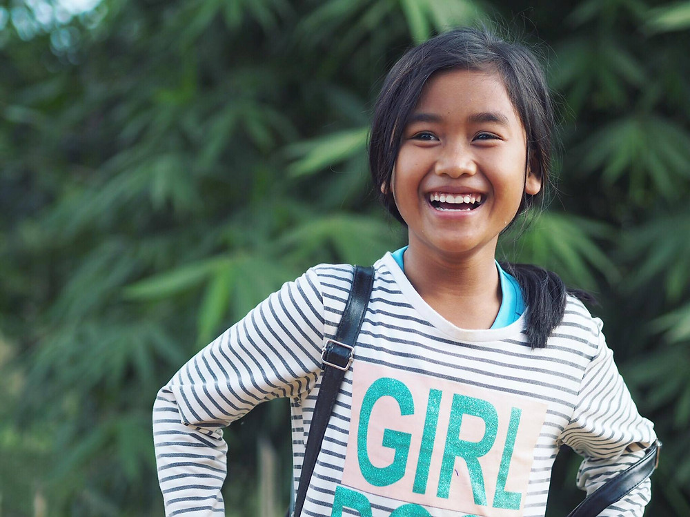 Girl in Laos