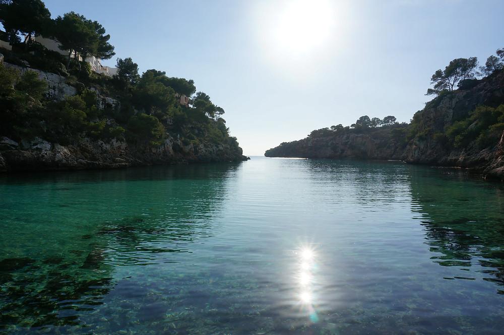 Winter Sun in Cala Pi, Mallorca
