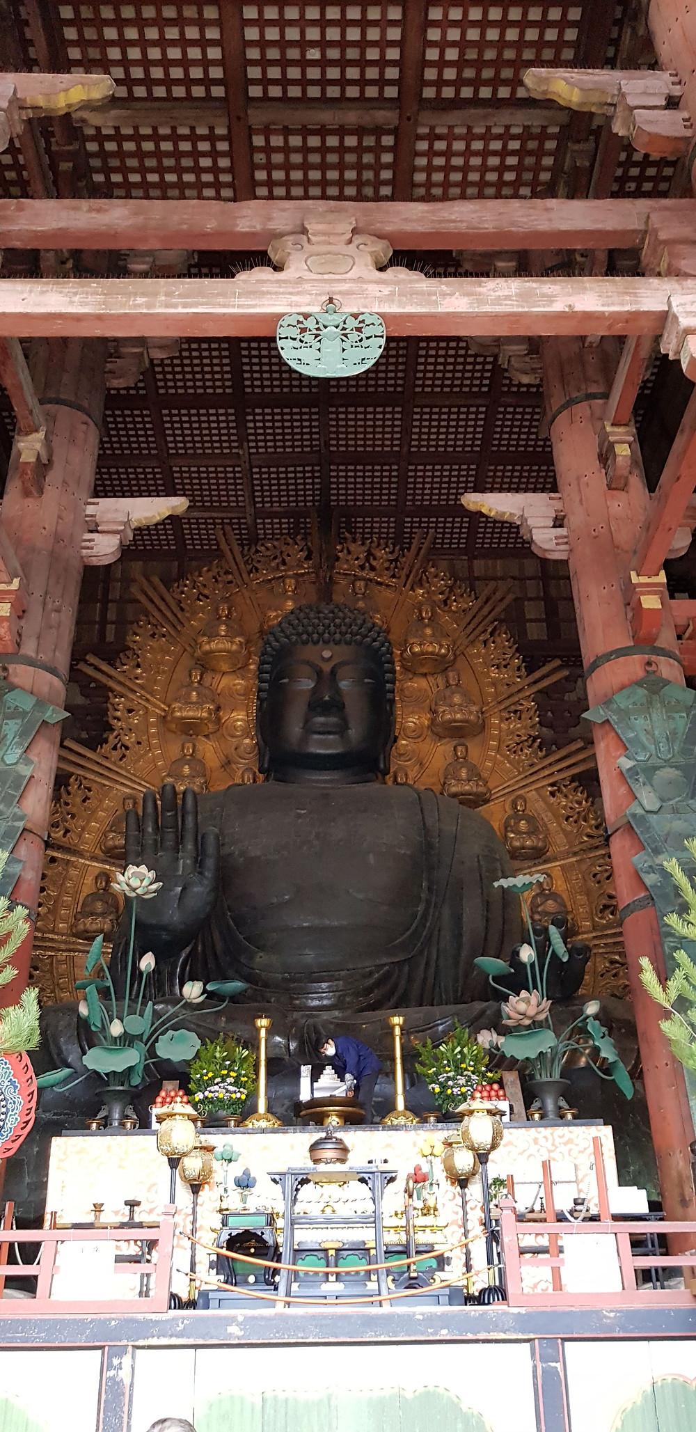 Giant Buddha, Nara, Japan