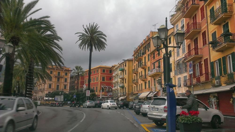 On the way to Portofino