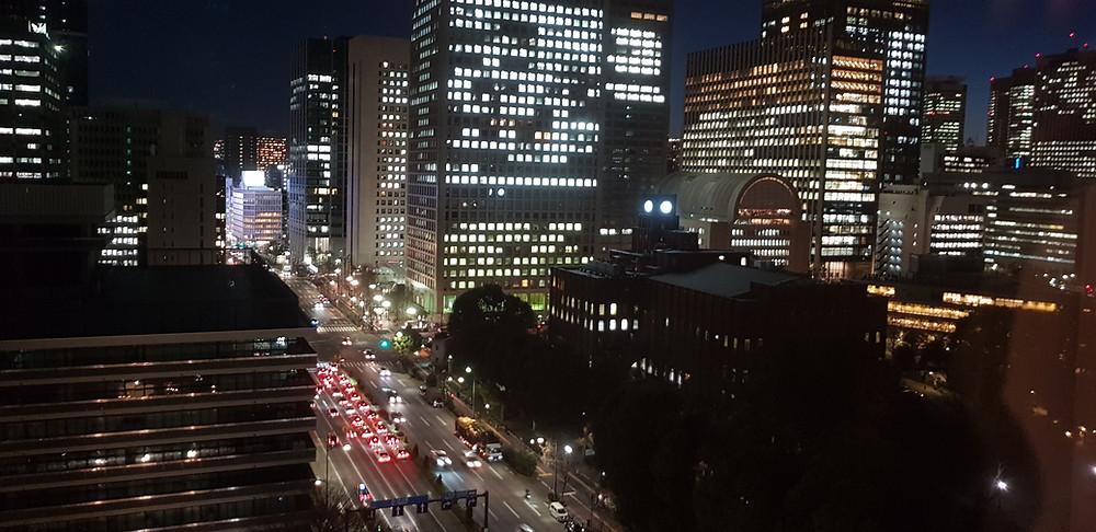 Night time, Tokyo, Japan