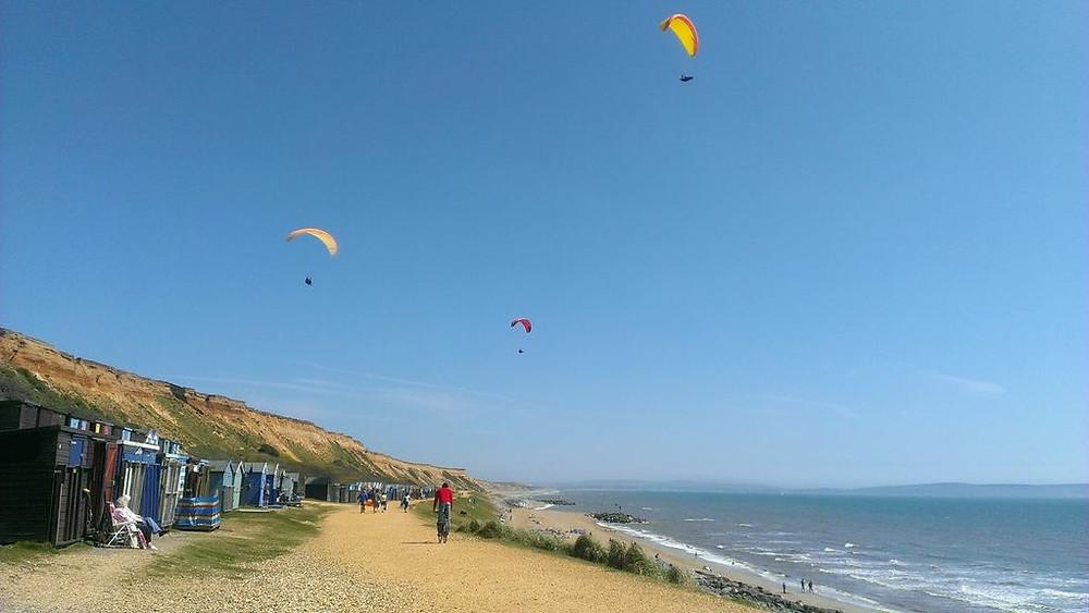 Barton on Sea Beach