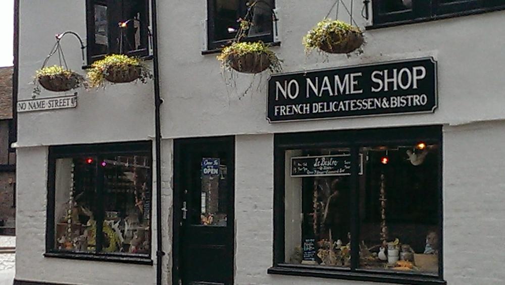 No Name Shop on No Name Street
