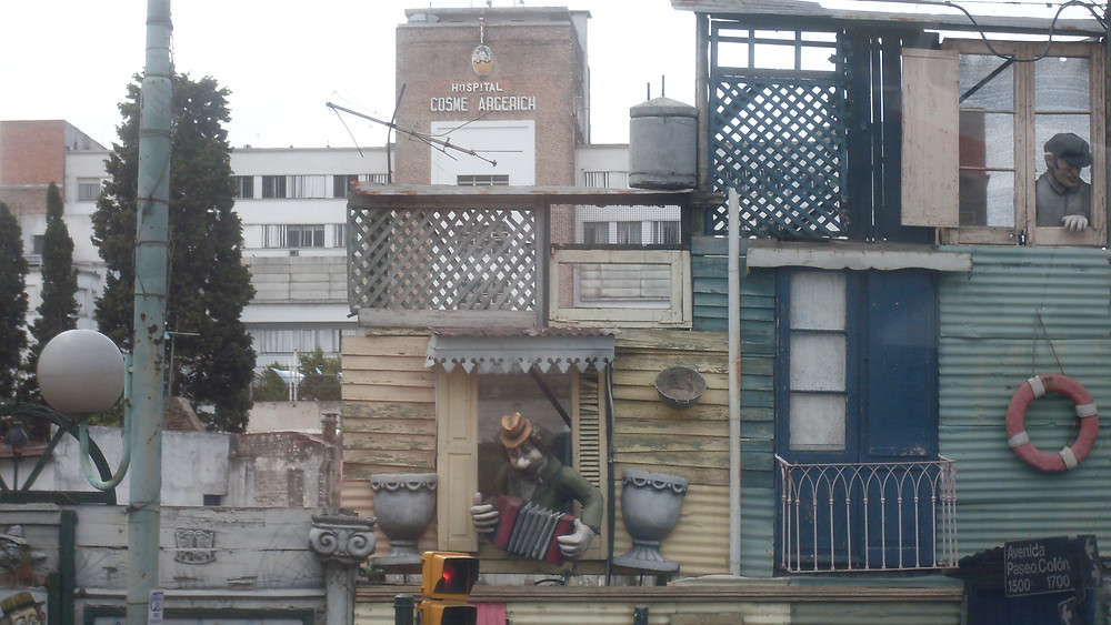 Tin houses of Buenos Aires