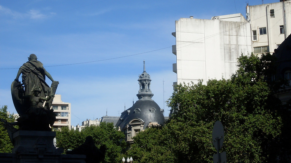 Rooftops of Recoletta in Buenos Aires