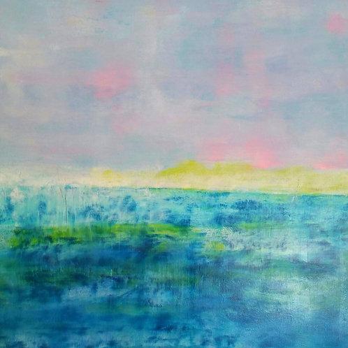 Acrylic on canvas 70cm x 70cm