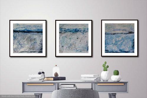 3 Paintings each 30cm x 30cm