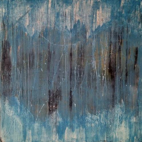 Painting on canvas 100cm x 100cm