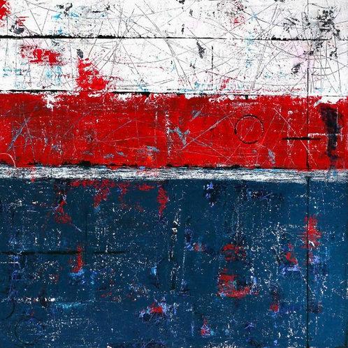 Acrylic on canvas  100cm x 100cm