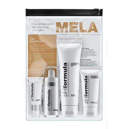 MELA kit מלה קיט phformula קיט מקיף של מוצרים נגד פיגמנטציה
