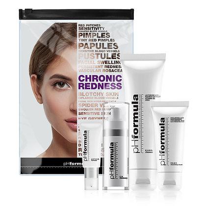 CR kit phformula chronic redness kit קיט סי אר לרגישות ואדמומיות phformula