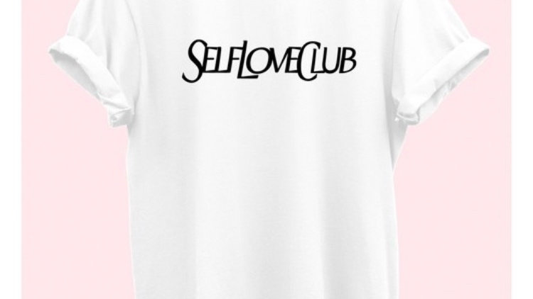 Self love club luxury tee