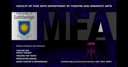 U of L MFA Poster