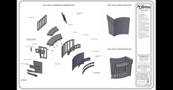 3D CAD Working Drawing