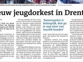 Nieuw jeugdorkest in Drenthe!