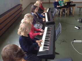 Project 'Meer muziek' gestart op de Regenboogschool te Assen.