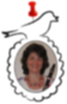 docent Janita Doornbos klarinetles