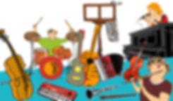 Muziekles bij Klankrijk Drenthe
