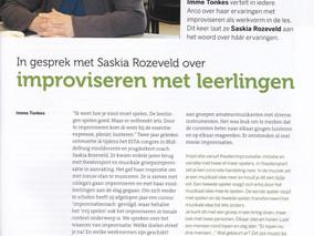 Interview met Saskia Rozeveld over muziekimprovisatie