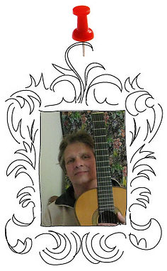 docent Bert Heikema gitaarles