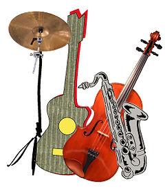 Muziekles met diverse instrumenten in en rondom Drenthe