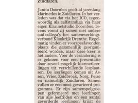 In de pers, Weekblad Oostermoer, 24 juni 2015