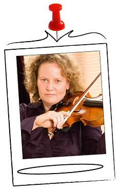 docent Saskia Rozeveld vioolles