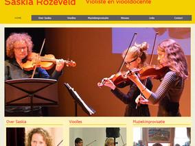 Docent Saskia Rozeveld heeft nieuwe website
