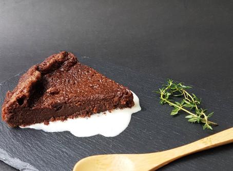 Moelleux au Chocolat  (torta sem farinha)