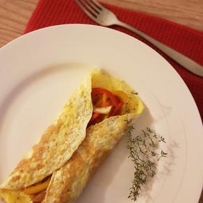 Wrap de Omelete