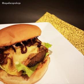 Hambúrguer de Cogumelo