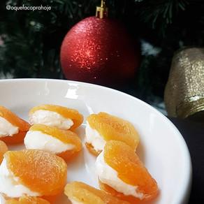 Damasco com Cream Cheese