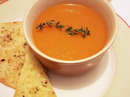 Sopa de Tomates Assados