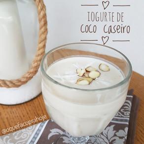 Iogurte de Coco Caseiro