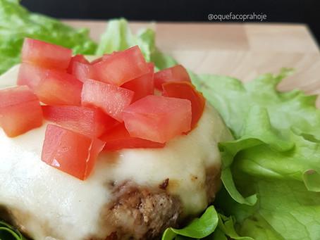 Hambúrguer Caseiro