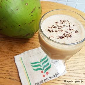 Shake de Café com Leite de Coco