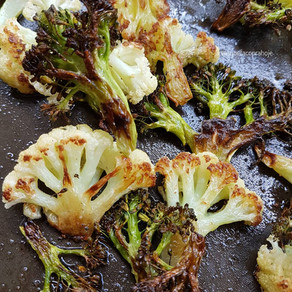 Assadeira de Couve-Flor e Brócolis