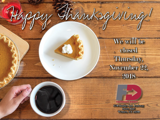 Happy Thanksgiving from all of us!