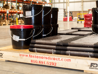 FD pallets ready for shipment!