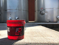 FD Pail on a job-site