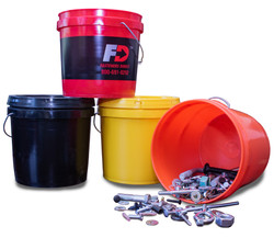 Colored Pails
