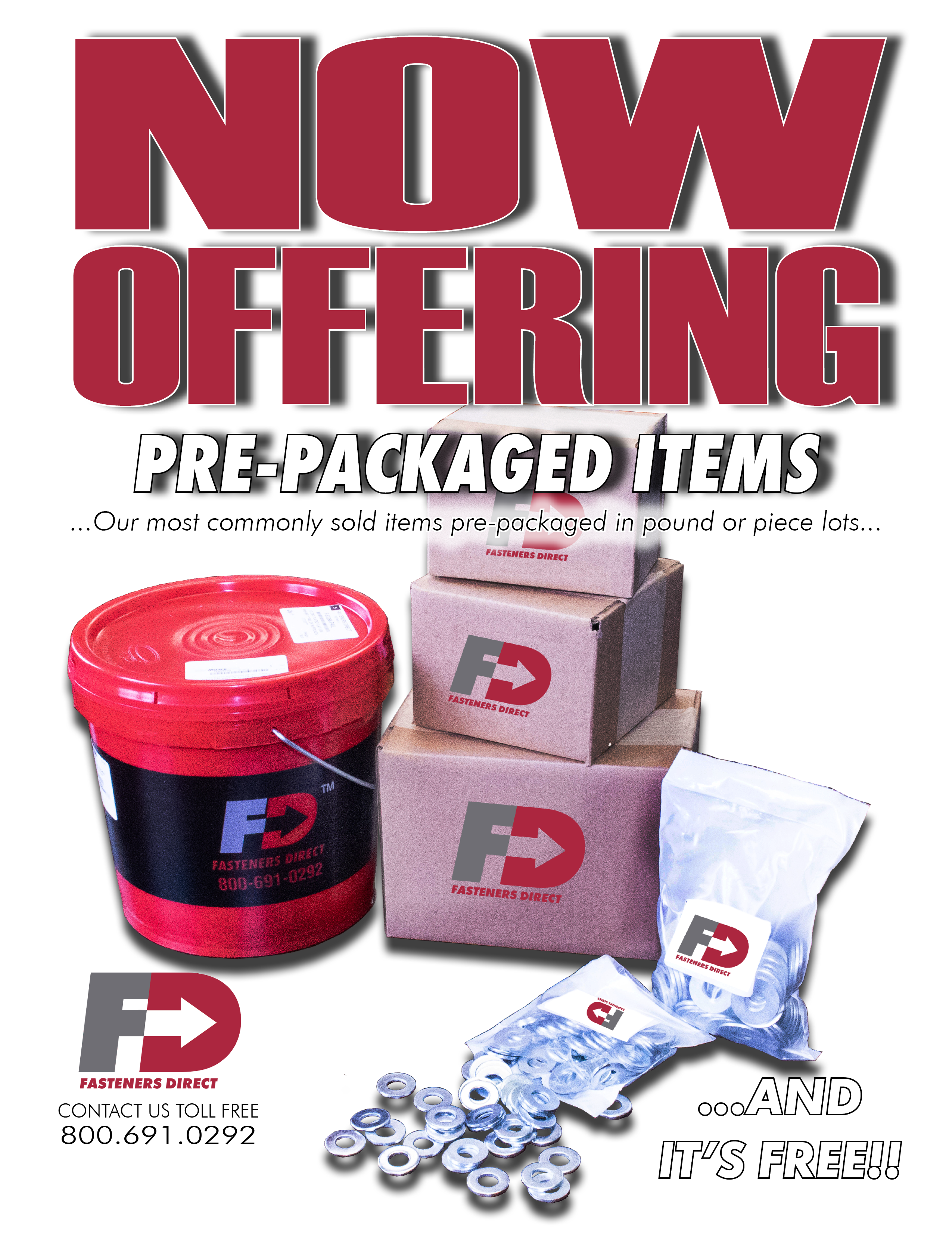Pre-Packaged Items