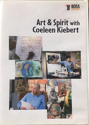 Art & Spirit with Coeleen Kiebert DVD