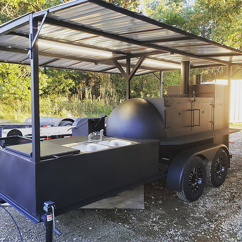 500gal w/sink, griddle, storage, deep fryer, and grill