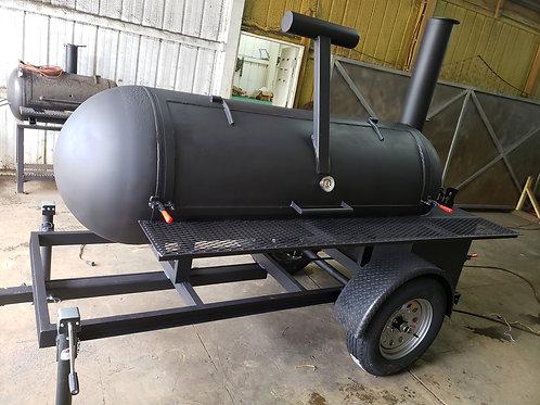 250gal reverse flow smoker