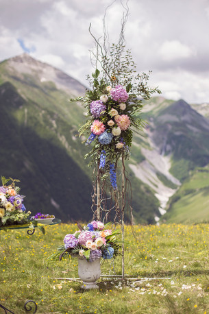 Yulia & Dima's Refined Mountain Wedding @ Gudauri, Georgia