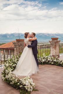 Ksenya & Alexander's Minimalist Garden Wedding @ Chateau Mere, Kakheti, Georgia
