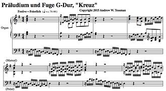 Präludium und Fuge - G Dur