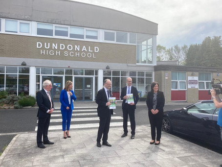 Visit from the Minister for Education