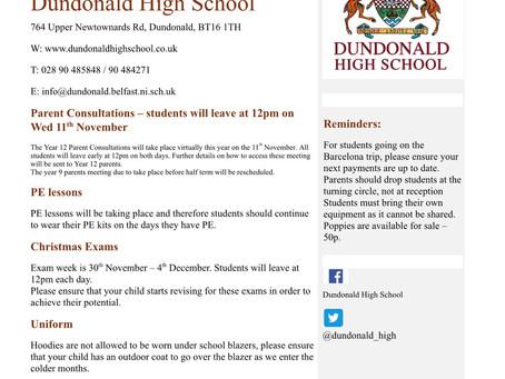 Parent Information November